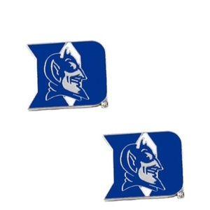 NEW! Duke Blue Devils Post Stud Logo Earrings